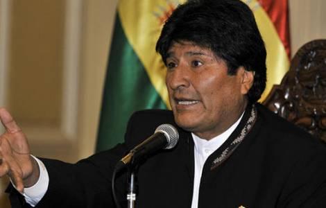 Le Président Evo Morales