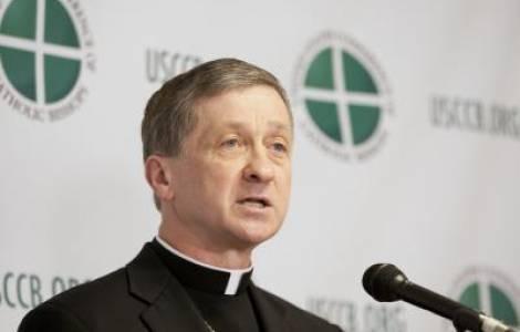 Arcivescovo Blase J. Cupich di Chicago