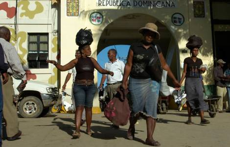 Frontière entre Haiti et la République dominicaine