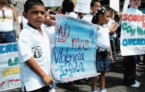 violenza contro l'infanzia