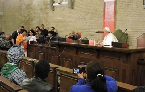 ambientalista Berta Caceres davanti Papa Francesco