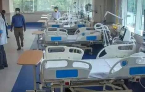 Escuela transformadas en hospitales en la India