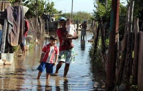 Paysans au Paraguay