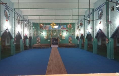 Interno da Igreja de São João em Youhanbad