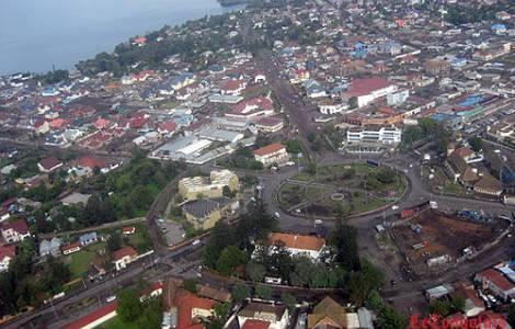 Goma, capital do Kivu do Norte