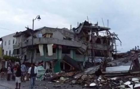 Séisme en Equateur