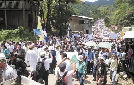 Manifestazione in Nicaragua