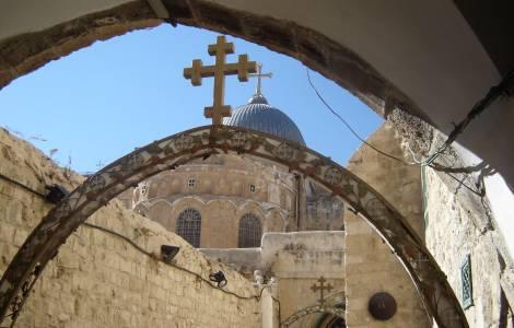 Risultati immagini per Chiesa cristiana copta a Gerusalemme