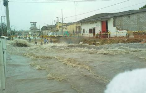 Fortes pluies et inondations en Colombie