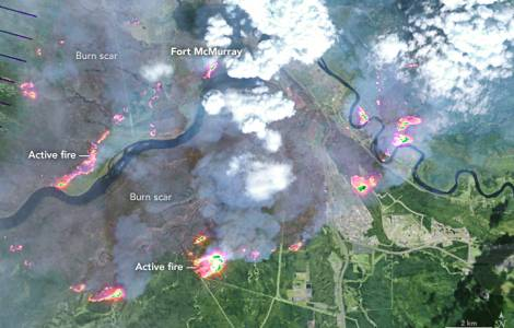 Incendies à Fort McMurray