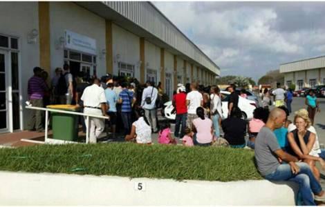Immigrés vénézuéliens à Curaçao