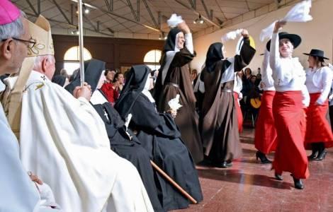 Religieuses claustrales au Centre pénitentiaire fé