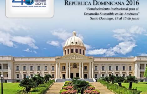 Repubblica Dominicana sede Assemblea OEA 2016