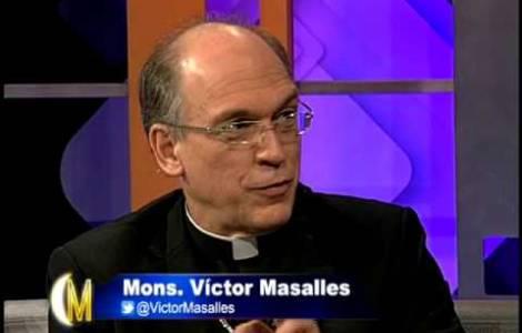 S.Exc. Mgr Victor Emilio Masalles Pere