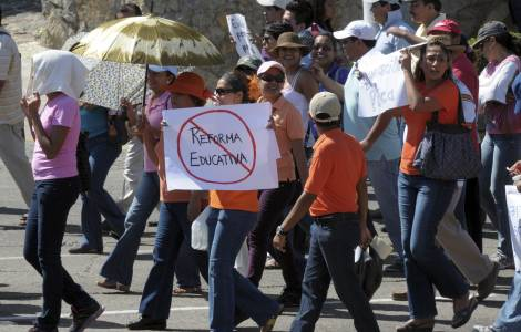 Manifestation d'enseignants