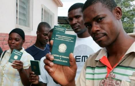 Haitiens au Brésil