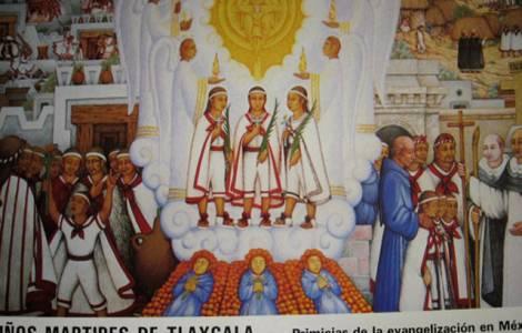 bambini martiri di Tlaxcala