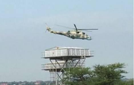 MIL Mi-24 Hind governamental sobre Juba