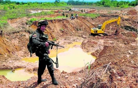 gestione irresponsabile delle miniere