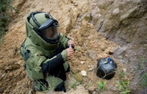 Terreno minato in Colombia