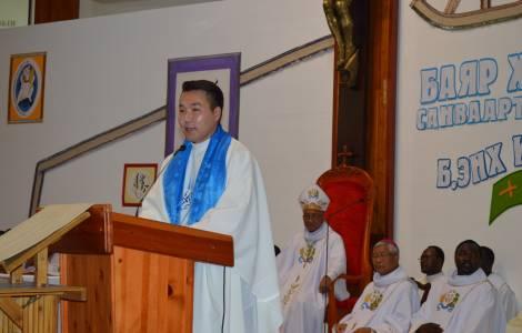 Pe. Joseph, recém-ordenado sacerdote