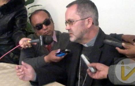 Cristóbal Bialasik, Bispo da Diocese de Oruro