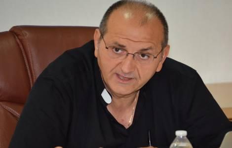 Le Père Fabrizio Meroni, PIME, Directeur de l'Agen