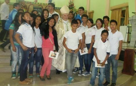 S.Exc. Mgr Pasqualotto, Vicaire apostolique de Nap