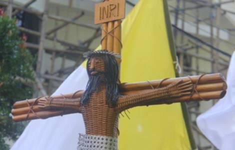 A Cruz do Dia da Juventude Indonésia