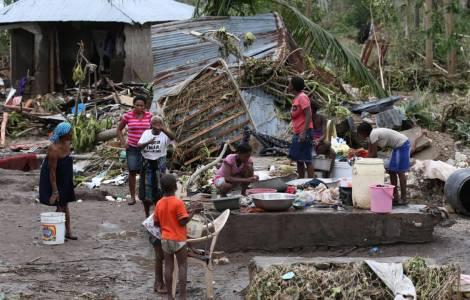 Uragano Matthew ad Haiti