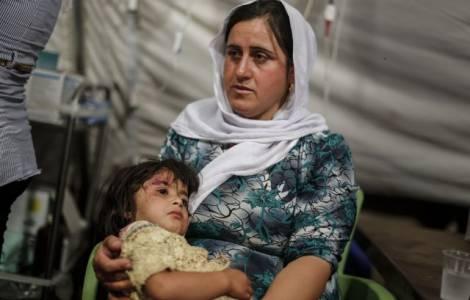 Refugiados em Irbil