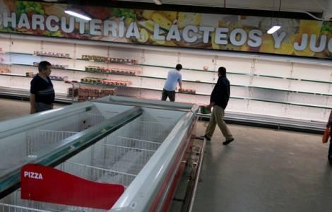 Manque de médicaments et de nourriture au Venezuel