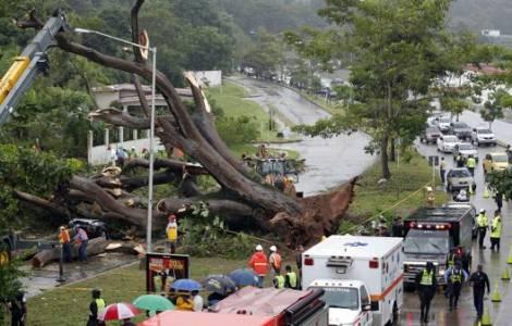 Prière pour les victimes du passage de l'ouragan O