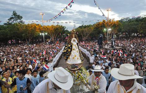 festa della Madonna di Caacupé