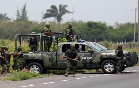 L'armée mexicaine dans les rues