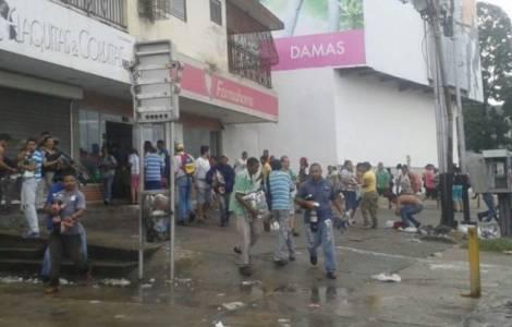 Ciudad Bolivar dopo le violenze e i saccheggi