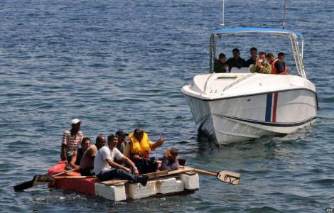 Migrants cubains