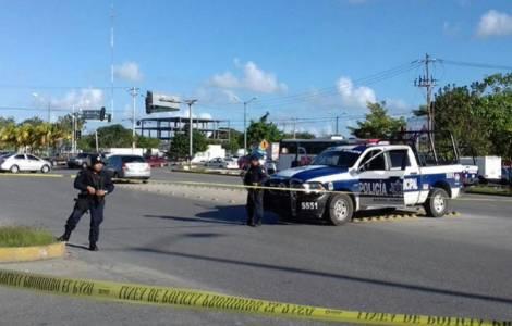 Etat d'urgence à Cancun