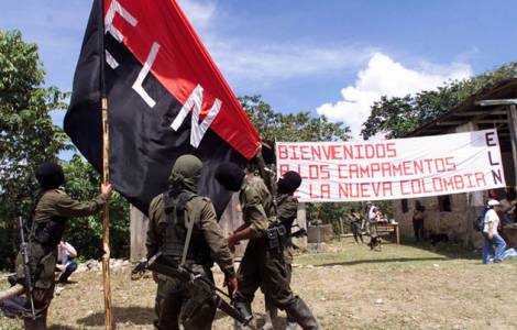 Dialogue entre le gouvernement colombien et l'ELN