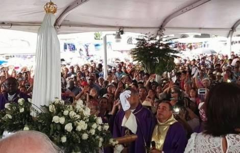 S.Exc. Mgr José Domingo Ulloa Mendieta, O.S.A. à l