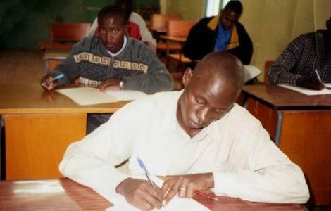 Séminaristes au Kenya