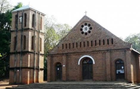 A igreja de Alindao