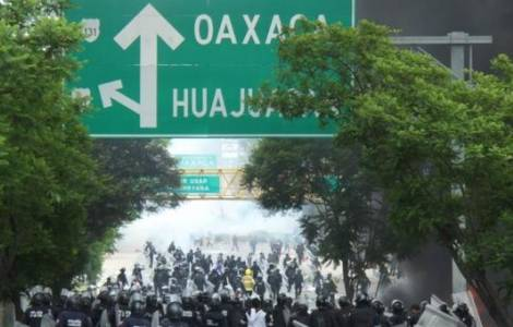 Oaxaca, confrontos armados, violência e ameaças, o