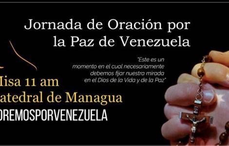 Prière de solidarité pour le Venezuela de la part