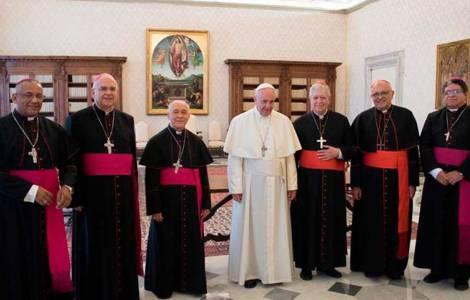 Rencontre entre le Pape et la Présidence de la Con