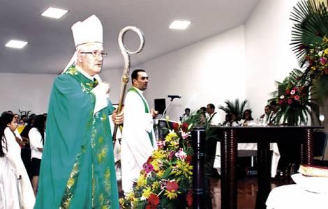 Inauguration d'une nouvelle église dédiée au Chris