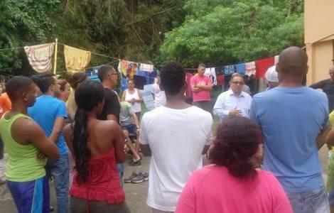 Il Card. Lacunza chiede di risolvere la situazione dei cubani fermi a Panama da mesi