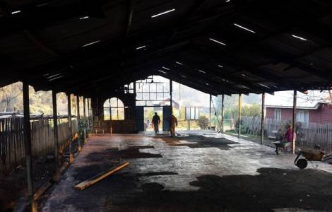 Ancora una chiesa bruciata per presunte rivendicazione Mapuches