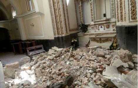 Solidarité des chrétiens après le séisme ayant pro