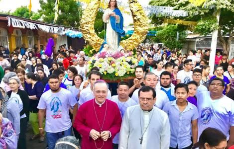 Celebrando a la Purisima en Nicaragua